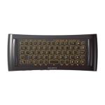 Google-TV: Controller NSG-MR7 mit beleuchteter Tastatur