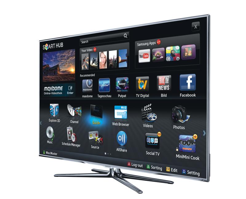 Samsung LED-TV Serie D8090