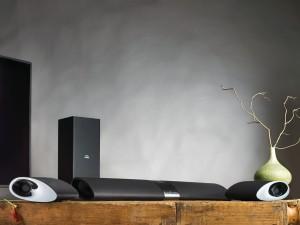 Philips Fidelio HTL9100 Soundbar mit kabellosen, abnehmbaren Lautsprechern