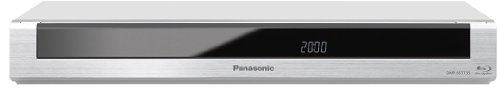 Panasonic DMR-BST735EG Blu-ray Recorder mit Twin HD (DVB-S Tuner, Full HD, 6x Speed, BD-R DL, 500GB Festplatte, 2x CI+)  silber