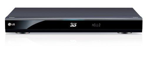 LG HR590S, SAT-Receiver, 3D-Blu-ray Player mit 1000 GB Festplatte (WLAN, DVB-S, HDMI, Upscaler 1080p, DivX Ultra-zertifiziert, USB 2.0) schwarz